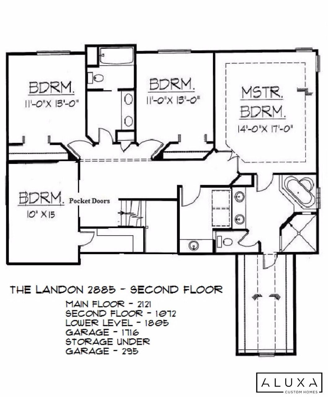 The Landon Aluxa Homes