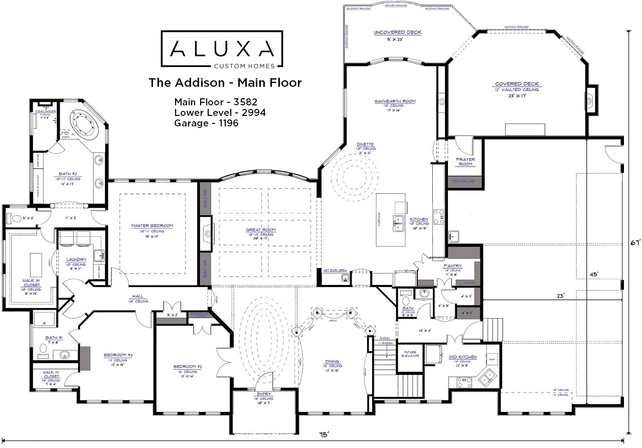 Addison floor plan addison floor plan 100 addison floor for Reliant homes floor plans